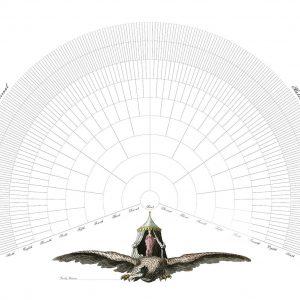 9 10 generation family tree fan chart template